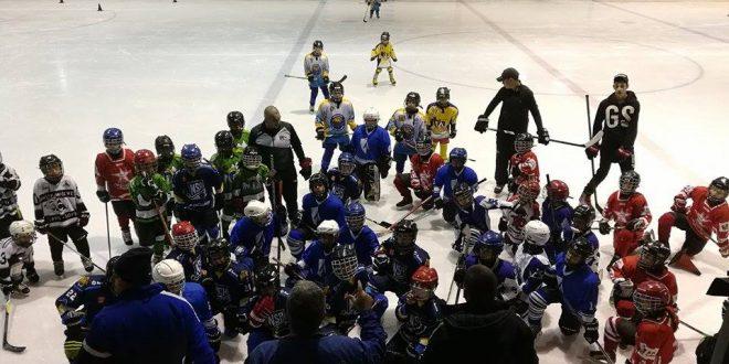 """Програмата """"Hockey day – Bulgarian way"""" за развитие на детския хокей на лед на Българската федерация"""