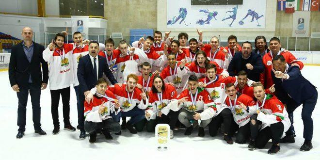 България спечели златните медали в III Дивизия без да загуби нито един мач