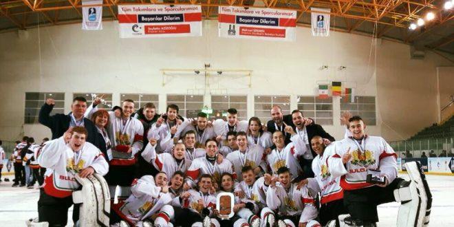 България спечели бронзов медал на Световното първенство по хокей до 18 г. в Турция